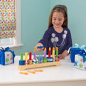 Children's Menorah Set, Doll Houses | Playsets | Kids Doll Houses | ABaby.com