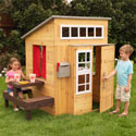 Modern Outdoor Playhouse, Outdoor Playhouse | Kids Play Houses | Kids Play Tents | ABaby.com