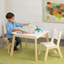Kids Modern Table and 2 Chair Set