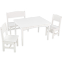 Nantucket Table with Bench and 2 Chairs, Children Table And Chair Sets | Toddler Table And Chairs | ABaby.com