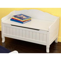 Nantucket Toy Box Bench, Kids Storage Bins | Personalized Kids Toy Boxes | ABaby.com