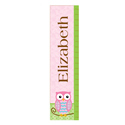 Personalized Owl Growth Chart, Children�s Personalized Growth Charts | Kids Growth Charts | ABaby.com
