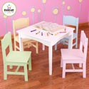 Pastel Nantucket Table Set