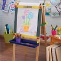 Personalized Artist Easel with Paper, Creative Play | Creative Toddler Toys | ABaby.com