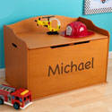 Personalized Austin Toy Box