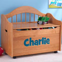 Personalized Limited Edition Toy Box, Kids Toy Boxes | Personalized Toy Chest | Bench | ABaby.com