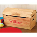 Personalized Rounded Top Storage Chest, Kids Toy Boxes | Personalized Toy Chest | Bench | ABaby.com
