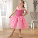 Pink Rose Princess Dress