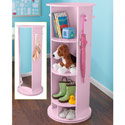 Small Swivel Vanity, Kids Vanities | Girls Kids Vanity Set | ABaby.com