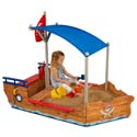 Pirate Sand Boat, Kids Outdoor Furniture | Outdoor Table And Chair Sets | ABaby.com