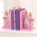 Princess Castle Bookends, Princess Nursery Decor | Princess Wall Decals | ABaby.com