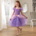 Purple Rose Princess Dress