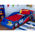 Race Car Toddler's Bed, Train And Cars Themed Nursery | Train Bedding | ABaby.com