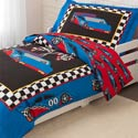 Racecar Toddler Bedding