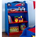Race Car Bookshelf, Train And Cars Themed Nursery | Train Bedding | ABaby.com