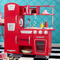 Red Vintage Kitchen, Kids Play Kitchen Sets | Childrens Play Kitchens | ABaby.com