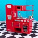 Red Vintage Kitchen, Personalized Baby Toys | Personalized Toys for Toddlers