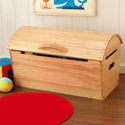 Rounded Top Storage Chest, Kids Toy Boxes | Personalized Toy Chest | Bench | ABaby.com