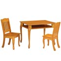 Windsor Rectangle Table and Chair Set, Children Table And Chair Sets | Toddler Table And Chairs | ABaby.com