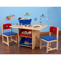 Star Table and Chair Set, Children Table And Chair Sets | Toddler Table And Chairs | ABaby.com