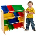 Sort it and Store it Bin Unit, Kids Toy Boxes | Personalized Toy Chest | Bench | ABaby.com