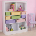 Wall Storage Unit, Kids Bookshelf | Kids Book Shelves | ABaby.com