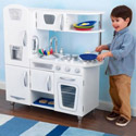 White Vintage Kitchen, Personalized Kids Toys | Baby Toys | ABaby.com