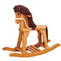 Wooden Rocking Horse, Kids Rocking Horse | Personalized Rocking Horses | ABaby.com
