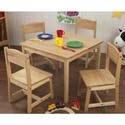 Farmhouse Table and Chairs, Farm Animals Themed Furniture | Baby Furniture | ABaby.com