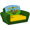 Johnny Tractor Sofa Sleeper, Kids Upholstered Chairs | Personalized Toddler Couch | Rocker | Recliner