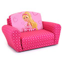 Barbie Sleepover Sofa, Kids Chairs | Personalized Kids Chairs | Comfy | ABaby.com
