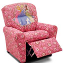 Disney Princess Recliner, Kids Upholstered Chairs | Personalized Upholstered Chairs | ABaby.com