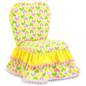 Ann Bryan Hearts Sweetheart Chair, Kids Upholstered Chairs | Personalized Upholstered Chairs | ABaby.com