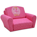 Pinkalicious Sleepover Sofa, Kids Upholstered Chairs | Personalized Upholstered Chairs | ABaby.com