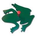 Frog Wall Peg, Frogs And Bugs Nursery Decor | Frogs And Bugs Wall Decals | ABaby.com
