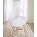 Baby Elegance Bassinet, Baby Bassinet Bedding sets, Bassinet Skirts, Bassinet Liners, and Hoods