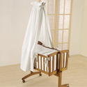 My Fair Baby Cradle, Wooden Bassinet | Antique Cradles | ABaby.com
