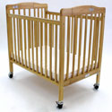 Storage Pocket Folding Crib, Portable Cribs For Toddlers | Folding Crib | Porta Cribs | ABaby.com