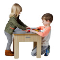 Funpit Play Table and Stool, Kids Table & Chair Sets | Toddler Tables | Desk | Wooden