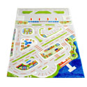 Mini City 3D Rug, Kids Playroom Area Rugs | Bedroom Rugs | Carpet | aBaby.com