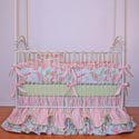 Leecy Crib Bedding Collection, Baby Girl Crib Bedding | Girl Crib Bedding Sets | ABaby.com