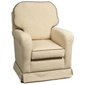 Chalet Glider, Nursery Recliner Glider | Nursery Rockers | Upholstered Gliders For Nursery