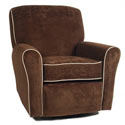 Normandy Recliner, Upholstered Glider Rocker | ABaby.com