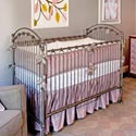 Lavender Silk Crib Bedding Set, Baby Girl Crib Bedding | Girl Crib Bedding Sets | ABaby.com