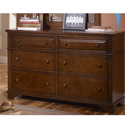 Dawson's Ridge 6 Drawer Dresser, Children's Dressers | Kids | Toddler | ABaby.Com