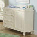 Lauren's Love Door Dresser/Changer, Dresser And Changing Table Combo | Nursery Dressers | ABaby.com