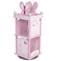 Sugar Plum Revolving Bookcase, Baby Bookshelf | Kids Book Shelves | ABaby.com