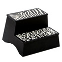 Wild Side Step Stool , African Safari Themed Nursery | African Safari Bedding | ABaby.com