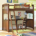 Dillon Loft Bed, Childrens Loft Beds | Girls Loft Bed With Desk | ABaby.com