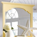 Seaside Dreams Bureau Mirror, Dresser Mirror | Mirror For Dresser | Vertical Mirrors | ABaby.com